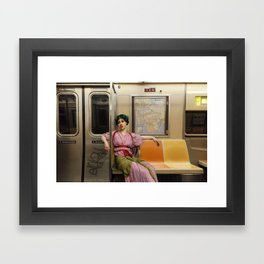 Ladies Who Commute III Framed Art Print