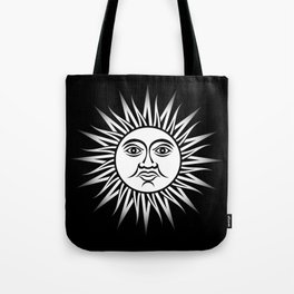 Sun of May Tote Bag