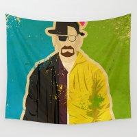 heisenberg Wall Tapestries featuring Heisenberg by Danny Haas