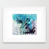 splash Framed Art Prints featuring Splash by Esco
