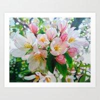 Wild Apple Art Print