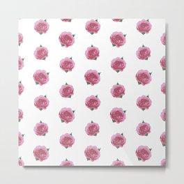 Splendid English Roses Metal Print