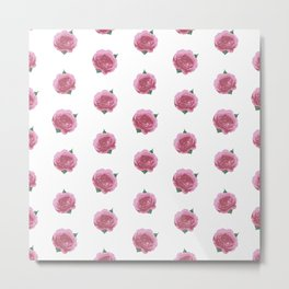 Splendid English Roses Metal Print