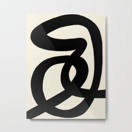 Modern Minimal Abstract #7 Metal Print