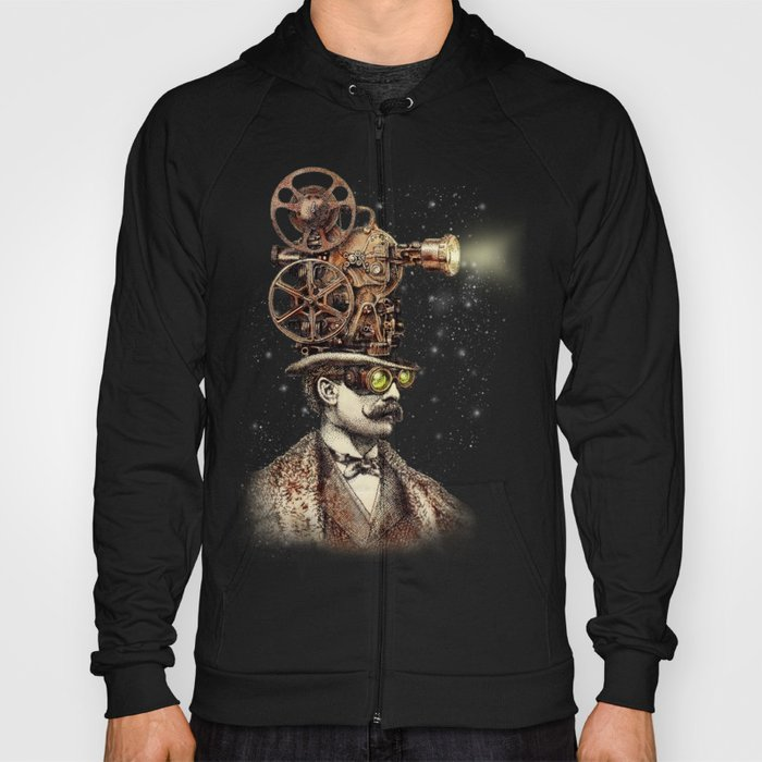 The Projectionist (sepia option) Hoody