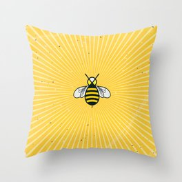 Don t worry – Bee happy – A Hell Songbook Edition Throw Pillow