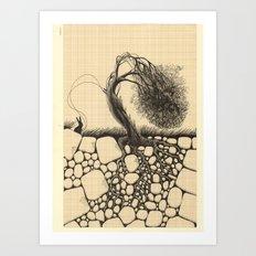 Artificial Tree N.26 Art Print