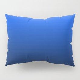 blue luminosity in modern design Pillow Sham