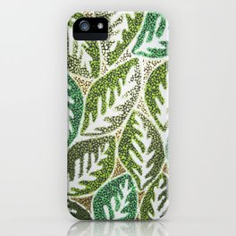 Leaves 3 iPhone Case