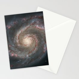 The Whirlpool Galaxy - Space Photograph Stationery Cards