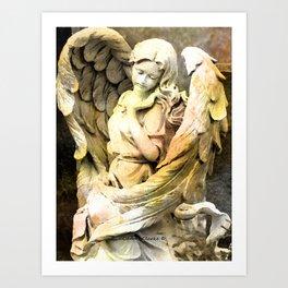 Angels We Have Heard On High Art Print