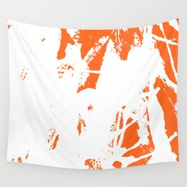Orange Base Wall Tapestry