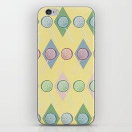 Lollipop pattern iPhone Skin