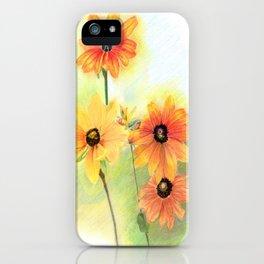 Gloriosa Daisies iPhone Case