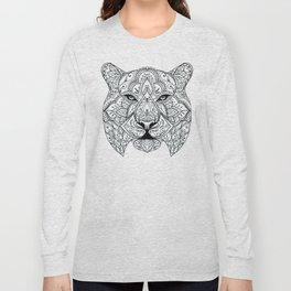 Big Cat Portrait Long Sleeve T-shirt