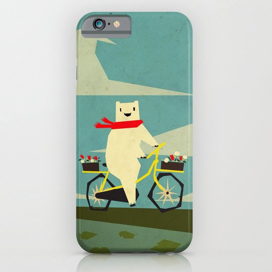 Yeti Taking a Ride iPhone & iPod Case