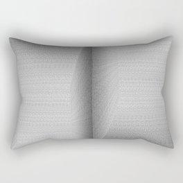 The Binary Rooms Rectangular Pillow