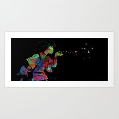 Spirited Away - Haku Art Print