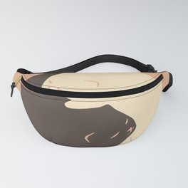 Hidden cat 9 Yin Yang kitty Fanny Pack