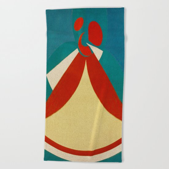 Iansã Beach Towel