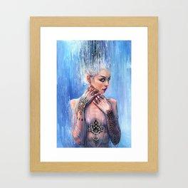 THE MIRROR OF REASON Framed Art Print