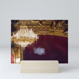 Behind The Curtain Mini Art Print