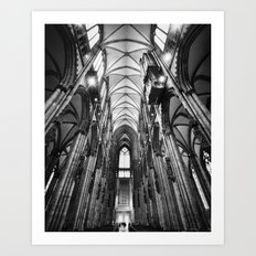 Cologne_Cathedral Art Print