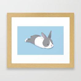 Sleeping Bunny Framed Art Print