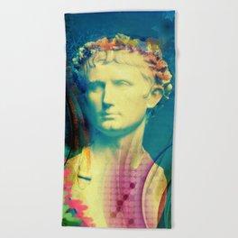 Caesar Augustus Beach Towel