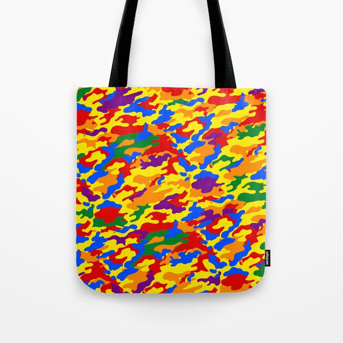 Homouflage Gay Stealth Camouflage Tote Bag