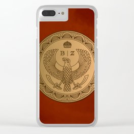 THE RUBY PRINCE Clear iPhone Case