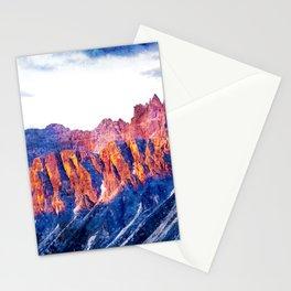 Dolomites Mountain Stationery Cards