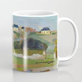 Paul Gauguin - Landscape at Le Pouldu Coffee Mug