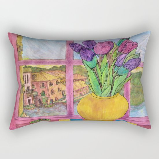 Bella Italia Rectangular Pillow