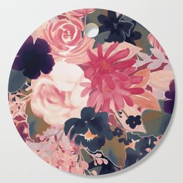 Mulberry Blooms Cutting Board