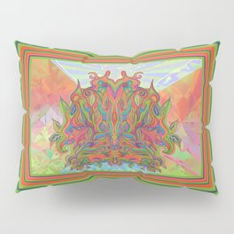 AlChemical - with landscaped background inc birds Pillow Sham