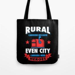 Rural Carrier Tote Bag