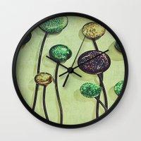 artsy Wall Clocks featuring Artsy Art by Artsy Arts By Rosanna.