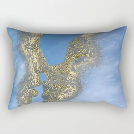 Be my Valentine & fly in the sky Rectangular Pillow