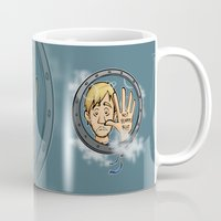 baloon Mugs featuring Charlie baloon by Arry Design