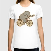cycle T-shirts featuring Elephant Cycle by Terry Fan