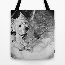 This Is Snow More Fun Tote Bag