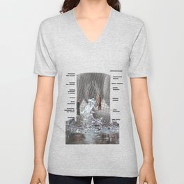 The source of the live Unisex V-Neck