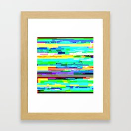 Output Framed Art Print
