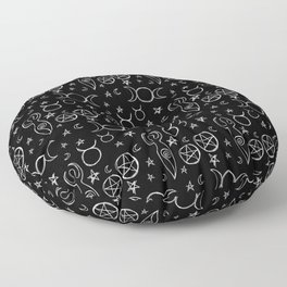 Witch Floor Pillow