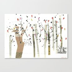 the last forest Canvas Print