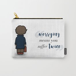 Worrying means you suffer twice - Newt Scamander Carry-All Pouch