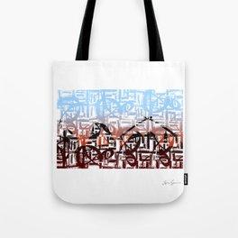 Mesopotamia in Arabic Tote Bag