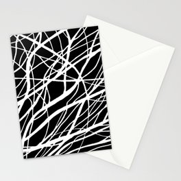 Tumble 2 Black Stationery Cards