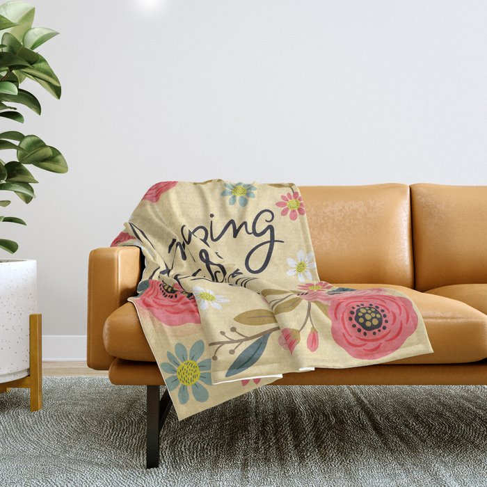 Pretty Swe*ry: Amazing as F Throw Blanket